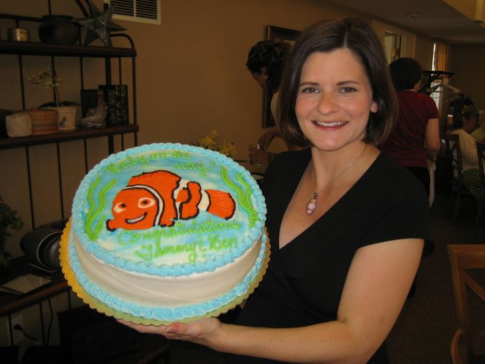 nemo cake template - 20070804 baby shower august 2007 picasa template by
